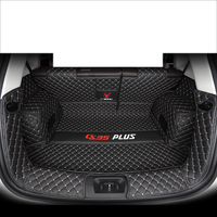 lsrtw2017 for changan cs35 plus wearable fiber leather car trunk mat cargo liner 2017 2018 2019 2020 luggage boot carpet rug