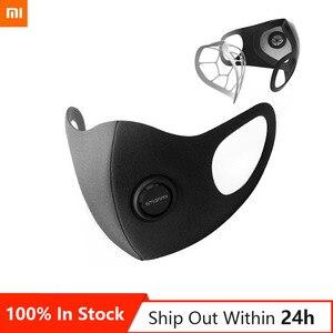 2020 Stock Xiaomi Mi Smartmi 3D Half Face Cover Masks- Breathable Anti-Haze Dust sterilizing Eco-friendly Filter Odor Remover(China)