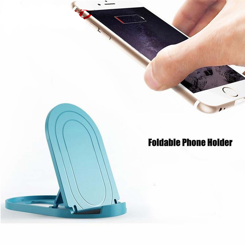 Universal Folding Phone Holder Stents For Iphone11 11 Pro  SamsungS9 HuaweiP20  For Mobile Phones Smart Phone Desk Holder Stands