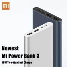 Xiaomi Original Mi Power Bank 3 2 18W 10000mAh Quick Charge
