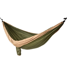Portable Hiking Camping Hammock Nylon Safety Parachute Hamac Hanging Chair Swing Outdoor Double Person Leisure children s toys swings for children indoor and outdoor household three in one baby swing outdoor hanging chair baby swing nest