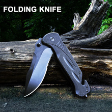 Folding Knife Multifunction Pocket Military Tactical EDC Knives Outdoor Camping Combat Climbing Portable Hunting Survival
