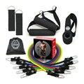 11 шт./компл. Подарочная коробка сопротивления лента для кроссфита тренировки йоги трубы канат для перетягивания, Эспандеры резиновые эласт...