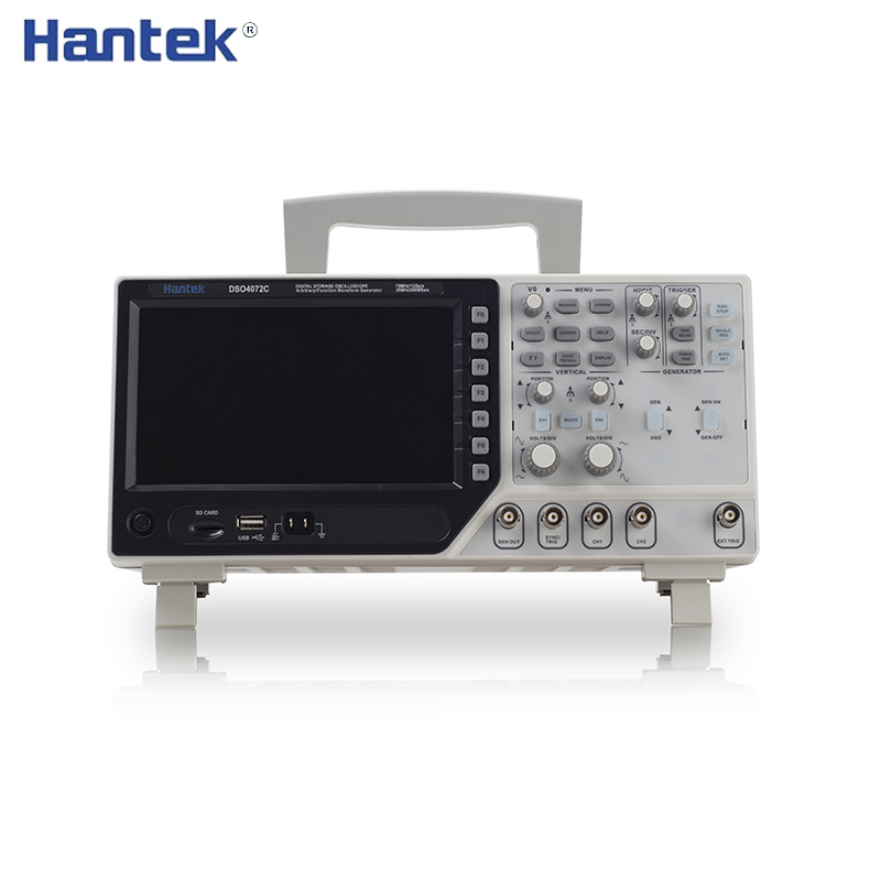 Hantek DSO4072C DSO4102C DSO4202C 70-200MHz 2Channels 1GSa/s Digital Oscilloscope 1Channel Arbitrary/Function Waveform Generator image