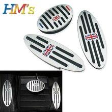 Footrest For Mini Cooper F60 Countryman Clubman S One R50 R53 R55 R60 R61 F55 F56 F54 Foot Rest Pedal Sticker For R56