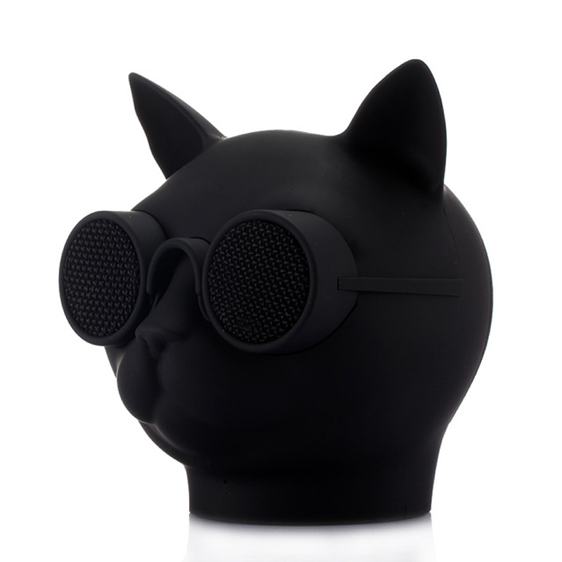 <font><b>Cat</b></font> Head Fashion Style T8 <font><b>Bluetooth</b></font> <font><b>Speaker</b></font> Mini Column Subwoofer Music Center Handsfree caxia de som Boom Box Sound System image