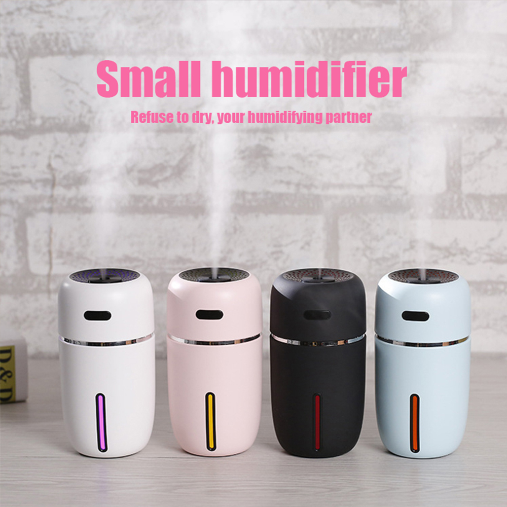 NEW White Dolphin Mini USB Air Humidifier Aroma  With Changing LED Air Vaporizer Car Essential Oil Aromatherapy