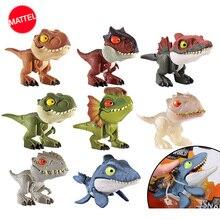 Świat jurajski dinozaur zabawki Minifingers figurka ruch stawy zabawki dla dzieci prezent Model dinozaura kolekcja Anime rysunek