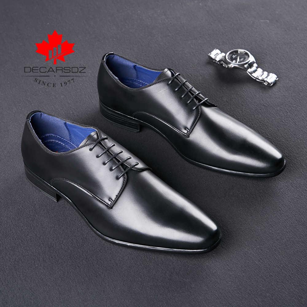 Erkekler resmi ayakkabı 2020 sonbahar moda erkekler düğün ofis elbise ayakkabı adam marka yüksek kaliteli tasarımcı deri ayakkabı erkek ayakkabıları