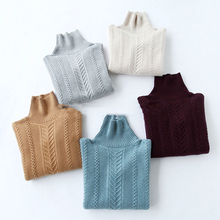 women knitted Cashmere sweater  Thick Warm Pullovers Turtleneck Long Sleeve winter fashion plus size  pullover  Loose turtleneck pullovers loose basic sweater autumn and winter tops solid cashmere sweater women loose thick mink cashmere sweater