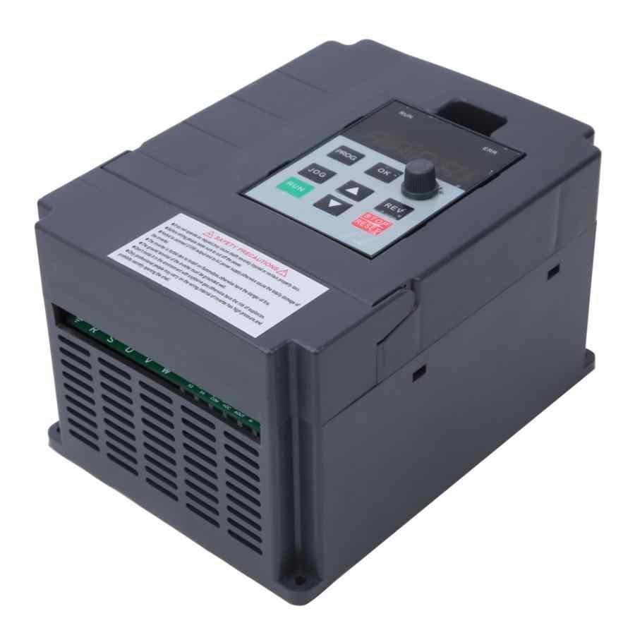 Преобразователь частоты VFD, преобразователь частоты 0,75 кВт 1,5 кВт 2,2 кВт, мощность двигателя 3P 220 В, преобразователь частоты для контроля скорости