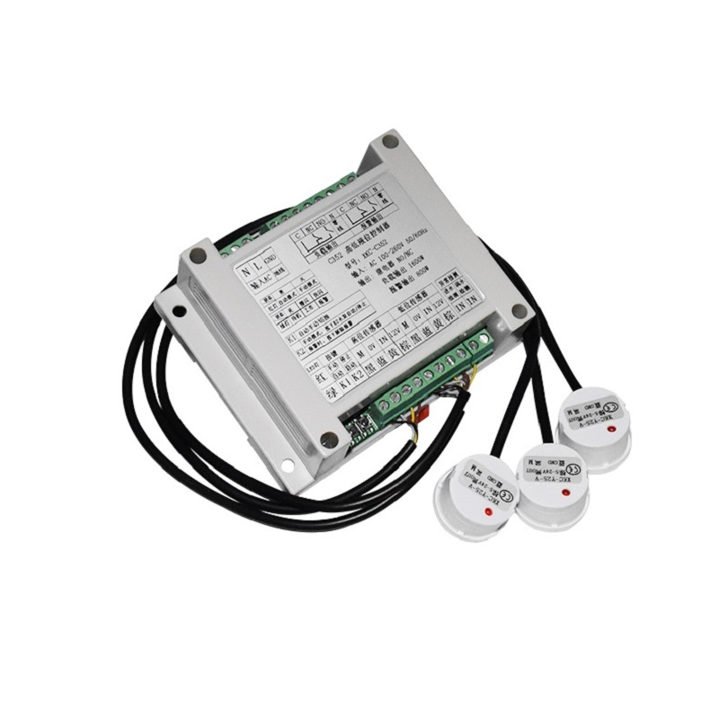 Water pump level controller instead of float type liquid level controller Water tank water level valve switch