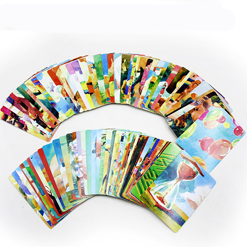 Psychotherapy Card Games for Party/Family Cope/Persona/Habitat/Shenhua Cards Board Game image