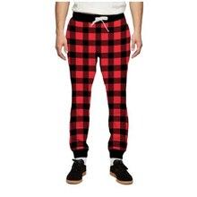 MODAVELOCE print Gingham Sweatpants Plaid Dress Pants Men Jogger Swetpants Staining Trousers Men Hip Hop  Sweatpants Joggers цена 2017