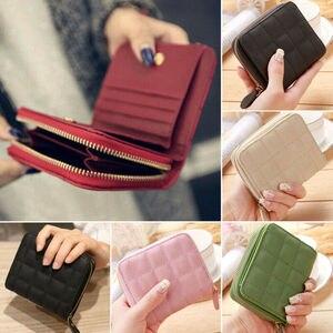 Women Ladies Wallet Leather Zi