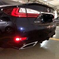 UBUYUWANT Rear Bumper Spoiler For Lexus ES 2013 2017 Rear Bumper Decoration Lip Diffuser Bumpers Protector For ES250 ES300