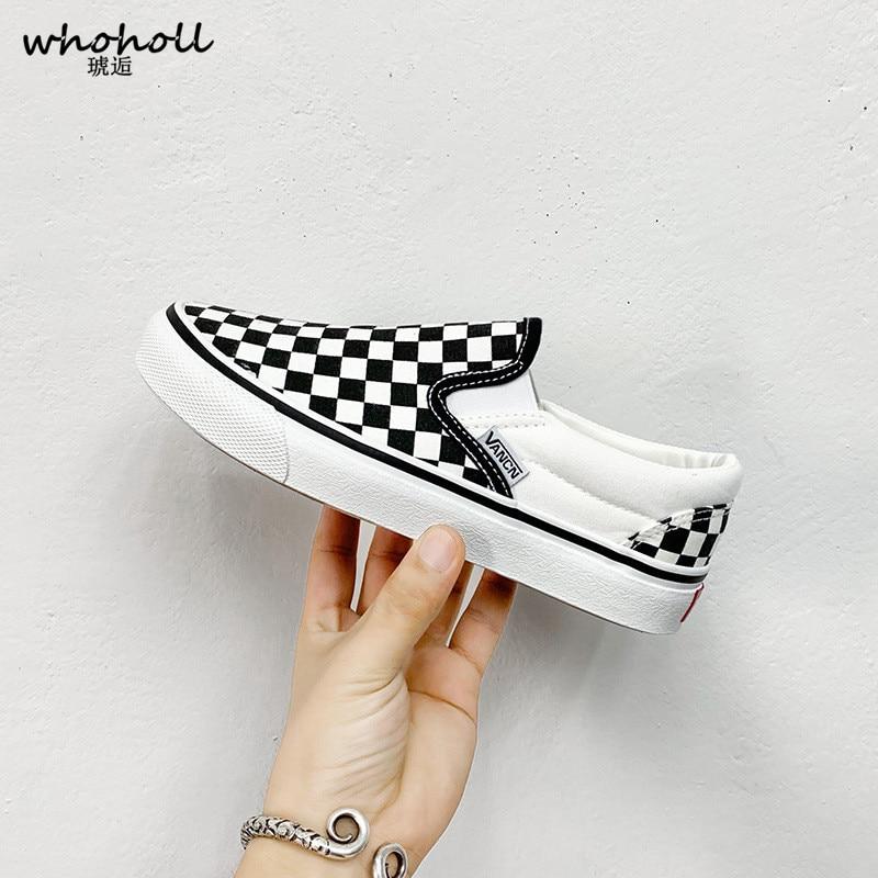 Men's Shoes Skateboard Couple Black-And-White Sports Single-Fashion New Footwear Leisure