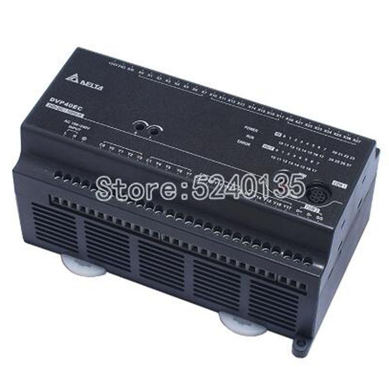 Brand New Original PLC EC3 Series DVP40EC00R3 DVP40EC00T3 100-240VAC 24DI 16DO Relay Output