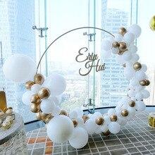 鉄サークル結婚式のアーチ小道具背景装飾シングル棚屋外芝生花ドアラックパーティーの装飾フレーム