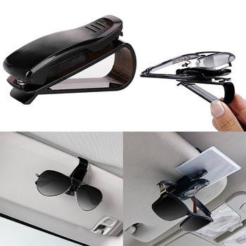 2019 Hot Sale Portable Car Sun Visor Glasses Sunglasses Ticket Receipt Card Clip Eyeglasses Glasses Holder Clip Sunglasses Clip image