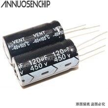 Capacitores eletrolíticos 450 v 120 uf 450 v 120 uf novo