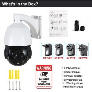 Image 5 - Mini caméra IP POE PTZ extérieure 1080P 2MP 3MP 4MP 5MP 80m IR Vision nocturne zoom automatique 30X Onvif dôme de vitesse IP caméra CCTV PTZ