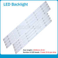"10 stücke LED streifen für LG INNOTEK DRT 3,0 50 ""A/B 6916L-1978A 6916L-1779A 6916L-1982A 6916L-1983A 50LB5610 50LB650V 50LB653V"