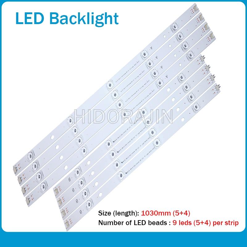 10pcs LED Strip For LG INNOTEK DRT 3.0 50