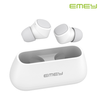 EMEY T1 TWS Wireless Bluetooth Headphones 3D Stereo Earphones with Dual Microphone