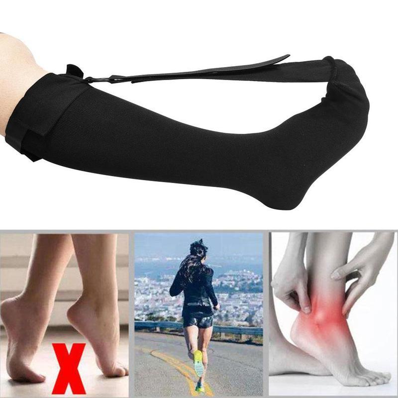 Поддерживающие ноги, растягивающиеся растягивающие чулки для мужчин, женщин, мужчин, ночная сорочка, Глубокая передняя часть стопы, эластич...