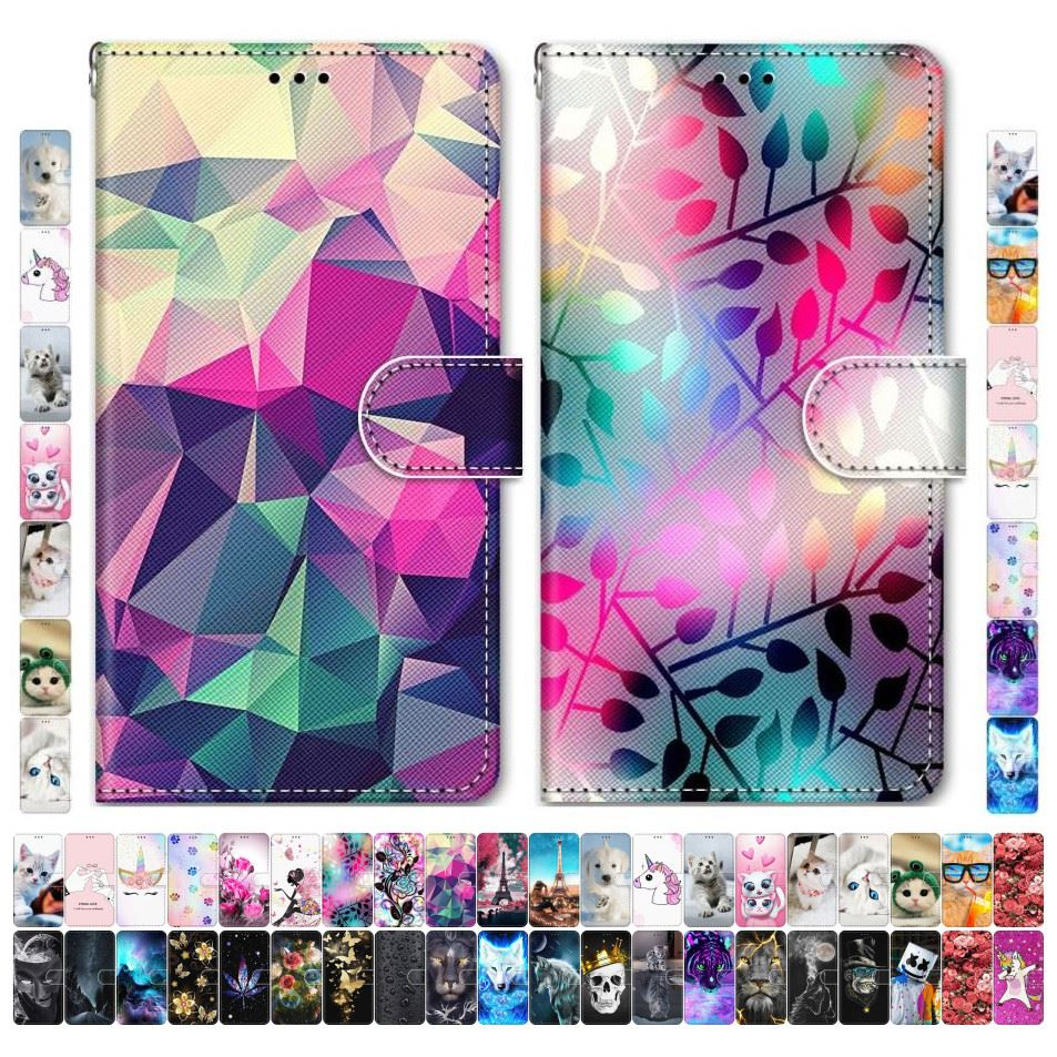 Boys Girls Kids Lovely Phone Bags For <font><b>Case</b></font> <font><b>Samsung</b></font> Galaxy A40 A30 A20 A310 A300 <font><b>A3</b></font> 2015 <font><b>2016</b></font> Flower Tower Butterfly Dog Cat D08F image