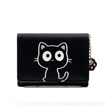 Cartoon Animal Card Holder Key Bag Money Bags for Girls Ladies Purse Kids Children Cat Coin Purses Women Wallets Small Cute new fashion women sweet cute ladies girls kids coin purses silicone wallet cartoon clutch purse chain mini bag small coin bags