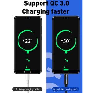Image 4 - 10 יח\חבילה Mcdodo USB C 2A מהיר טעינת USB C כבל סוג C QC3.0 נתונים כבל טלפון מטען עבור סמסונג S9 + S8 huawei Mate USB חוט