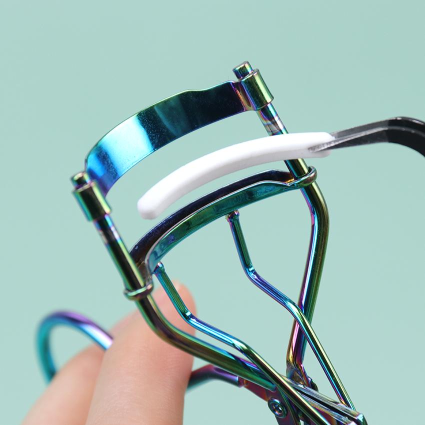 10PCS Eyelash Curler Replacement Pads Universal Type Curling High Elastic Rubber Pad Face Beauty Eyelash Curler Replacement Tool