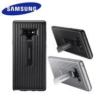 Funda de teléfono de pie para Samsung Galaxy Note 9, carcasa protectora completa, armadura de soporte resistente