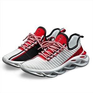 Image 5 - זוג נעלי ספורט קלאסי גברים של נעליים יומיומיות החלקה נעלי הליכה קל משקל Tenis Masculino אופנה Zapatos דה Hombre