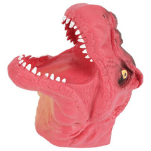 Умный аналоговый 3D Динозавр ручная кукла мягкие резиновые динозавра Юрского периода тираннозавр динозавр ручная кукольная Игрушка реквизит