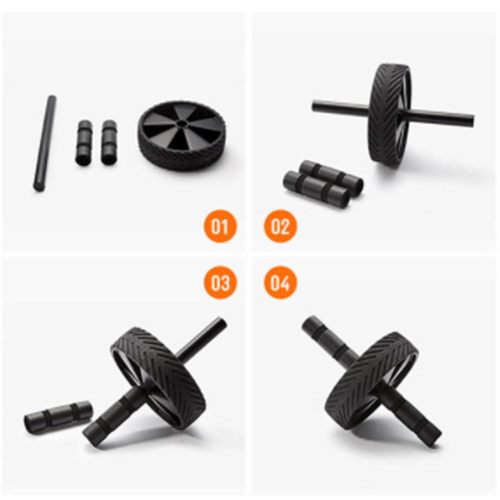 Roller Wheel Exercise Equipment Abdominal Wheel Exercise Equipment Ab Wheel Roller for Home Gym Ab Workout Equipment image