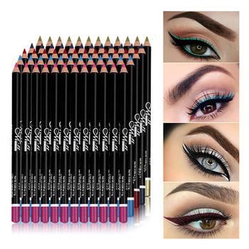 MENOW 12 sztuk zestaw wodoodporny ołówek do oczu ołówek do makijażu Eyeliner ołówek do oczu wodoodporna długopis kosmetyczny Eyeliner Eyeliner Pen kosmetyki tanie i dobre opinie CN (pochodzenie) COMBO łatwe do noszenia DŁUGOTRWAŁY Naturalne inny 1 1g*12 W jednym kolorze CHINA GZBJZ xk16-108 2981