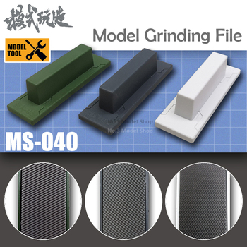 Gundam Military Model Stainless Steel Sanding File for Plastic Parts Grinding Hobby Grinding Tools Model Building Kits TOOLS color: MS-040 3pcs|MS-040 Coarse|MS-040 Fine|MS-040 Middle
