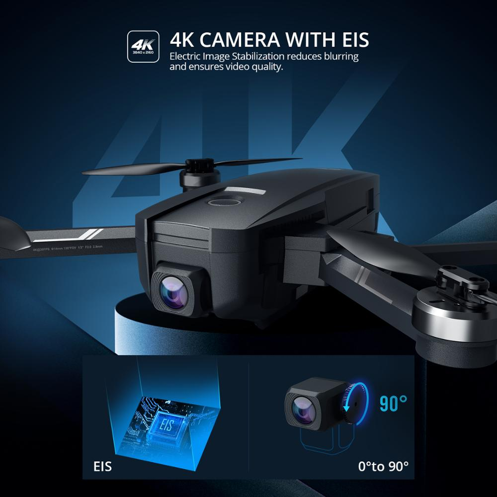 Holy Stone HS105(HS720E) 4K UHD Drone With Electric Image Stabilization Camera GPS 5G FPV Quadcopter With Brushless Motor Case 1