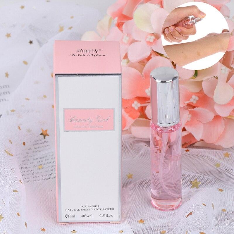 1Pcs 15ML Unisex Long Lasting Pheromone Perfume Men And Women Temptation Heterosexual Pink Dropship