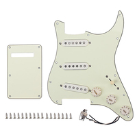 Prewired Loaded Sss Pickguard Alnico V Pickups for Strat Guitar