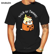 Halloween Costume Cockatiel Scootaloo T Shirt halloween cockatiel bird birb cute kawaii animals pets pumpkin costume(China)