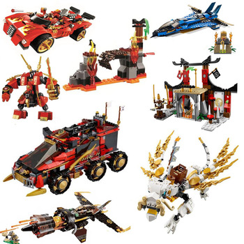 2020 NEW Ninjagoes Series  Dragon Parts Building Blocks  Ninjutsu Racing Truck Bricks Model  Toys For Children 1