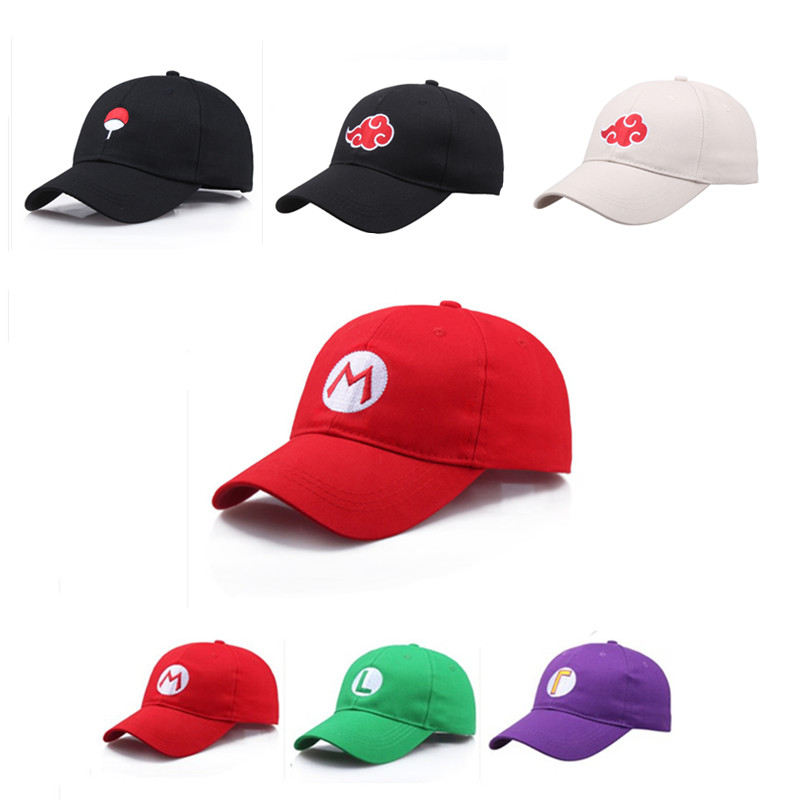 Cute Super Mario Odyssey Red Eyes Cappy Hat Party Cosplay Halloween Parade Suits