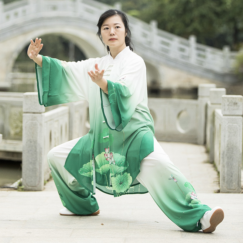 2019 Jiu Jitsu Wushu Kung Fu Uniform Tai Chi Suit Tang Clothing For Men And Women Martial Arts Performance Suit Leisure Shawls
