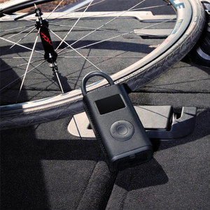 Image 5 - Xiaomi Mi Mijia Portable Air Pump Digital Compressor Tire Pressure Detection Electric Inflator Pump For Bike Motorcycle Car