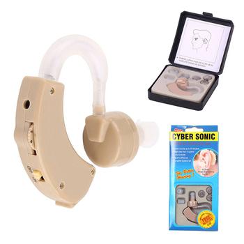Plastikowy Super aparat słuchowy mini wzmacniacz dźwięku do ucha regulowane aparaty słuchowe przenośny wzmacniacz słuchu dla osób niesłyszących w podeszłym wieku tanie i dobre opinie XceeFit Ear Sound Amplifier Hearing Aids audifonos headphones