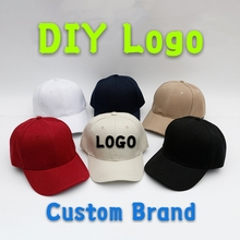 DIY Logo Baseball&Flat Cap Custom-made Bucket Hat Hip Hop Child&Adult Printing Embroidery Brand Sport High-quality Snapback